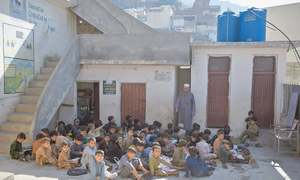 Education remained neglected as funds diverted to fight militancy