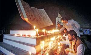 Candlelight vigil held on eve of APS attack anniversary