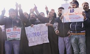 Crackdown, strike shut held Kashmir amid anger over killings