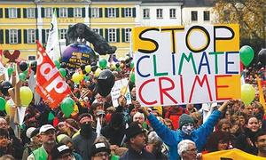 A rulebook for climate suicide in slow motion