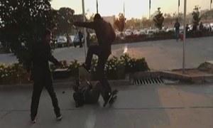 FIR registered against Nawaz Sharif's security guards for assaulting cameraman