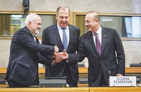 Russia, Iran and Turkey agree on Syria constitutional body