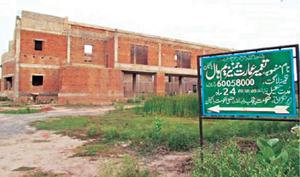 Pakpattan dist govt, PSB blamed for incomplete gymnasium project