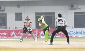 Lahore Whites reach semis but holders Lahore Blues crash out