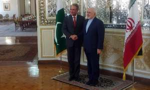 Foreign Minister Shah Mahmood Qureshi meets Afghan, Iranian counterparts on whirlwind tour