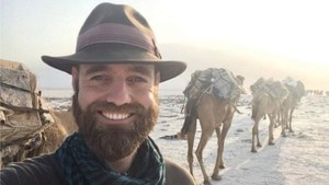 Man on a mission to travel the world without planes arrives in Islamabad