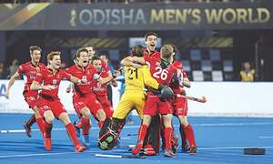 HOCKEY: BELGIUM'S PATH TO GLORY