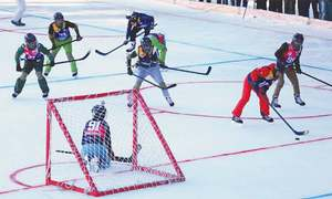 PAF defeats  GB Scouts in first-ever ice hockey match in Naltar