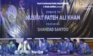 Concert pays tribute to Nusrat Fateh Ali Khan