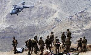 امریکا کی فوجی انخلا کی تردید، طالبان اور واشنگٹن مؤقف پر ڈٹ گئے