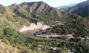 Electricity evacuation issues in Patrind hydropower project