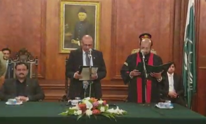 Justice Shamim sworn in as 48th chief justice of Lahore High Court