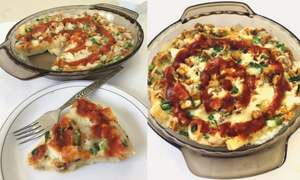 Cook-it-yourself: Bread and egg casserole