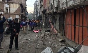 پشاور: دھماکے میں خواتین سمیت 6 افراد زخمی