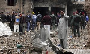 6 injured in Peshawar IED blast: police
