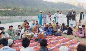 Folk music reviving in Torghar