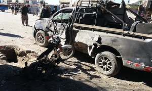 12 injured in two blasts targeting security personnel in Balochistan