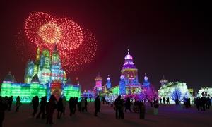چین کا دلکش ہاربن آئس فیسٹیول