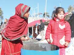 Tourists a blessing for Malam Jabba poor girls