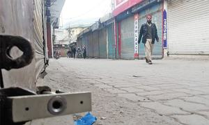 Muzaffarabad observes shutter down against diversion of Neelum River