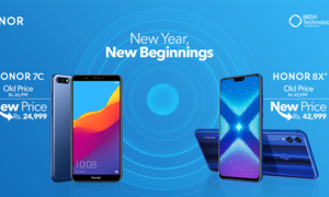 سال نو پر آنر (Honor) نے 7C اور 8X کی قیمتیں کم کردیں