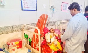 تھر میں غذائی قلت، 48 گھنٹوں میں مزید 6 بچوں کی اموات