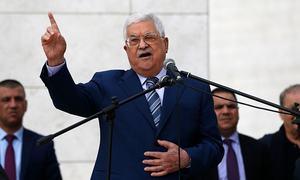 Palestinian president plans anti-Hamas measures as split widens