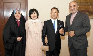 Japanese ambassador holds farewell dinner