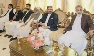 Top GDA leaders meet ahead of PM's visit to Ghotki