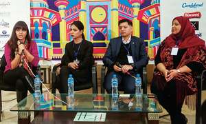 Chit-chat on #MeToo and Pakistani identity at ThinkFest