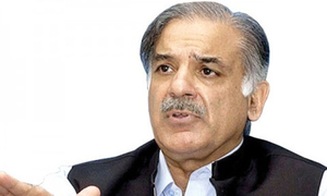 Shahbaz to 'think about military court extension' if approached by PTI