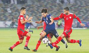 Four-goal Ali equals record as Qatar advance at Asian Cup
