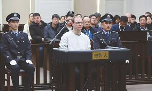 China sentences Canadian to death, raises tension