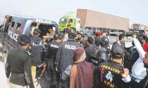 20 injured as police baton-charge protesting SDA employees