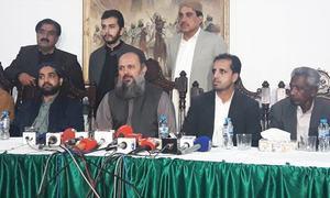 بلوچستان حکومت کی یقین دہانی:10 سال بعد'لاپتہ افراد' کےعزیزوں کا احتجاج ملتوی