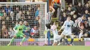Newcastle survive Blackburn scare, Stoke fall to Shrews