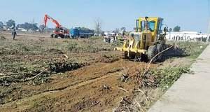 Orchard felled for Kartarpur corridor