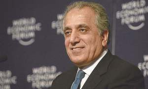 Zalmay Khalilzad arrives in Pakistan for talks with civil, military leadership