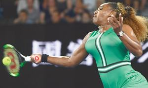 Serena, Djokovic make speedy progress at  rain-hit Open