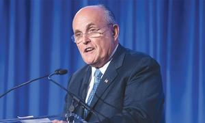 'Never said there was no collusion' with Russia, says Giuliani