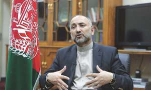 Former Afghan national security adviser announces candidacy