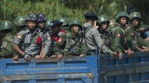 Myanmar army kills 13 rebels in Rakhine clashes