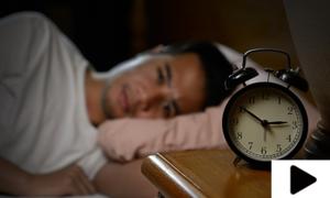 پرسکون نیند نہ آنا خطرناک بیماری کی علامت