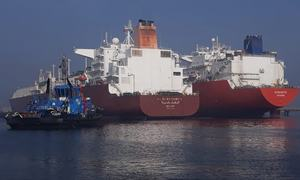 In a first, Port Qasim berths two LNG vessels in one day