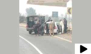ساہیوال واقعہ: فائرنگ کے فوری بعد کی فوٹیج سامنے آگئی
