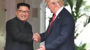 US 'made a lot of progress' with North Korea, says Trump