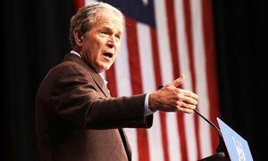 George W. Bush treats his Secret Service to pizza amid shutdown