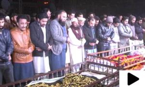 سانحہ ساہیوال میں جاں بحق 4 افراد کی نماز جنازہ