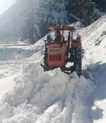 KP receives fresh spell of snow, rain