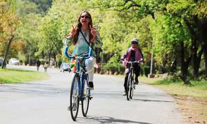 Editorial: Why authorities should back Peshawar's first women bicycle rally